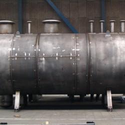 Olie en wateropslag tank
