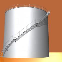 olie en wateropslagtanks